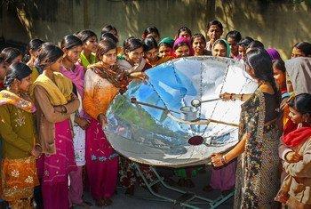 Durante a pandemia, a proporção de energia renovável da Índia aumentou de 17% para 24%