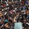 中非共和国的青年