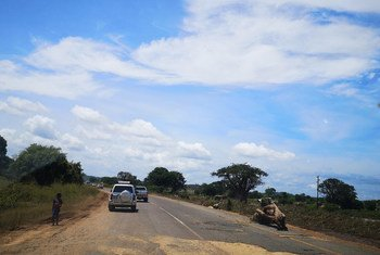 Estrada em Tete, Moçambique