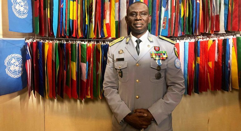 Lieutenant-General Balla Keita, outgoing Force Commander at the UN Multidimensional Integrated Stabilization Mission in the Central African Republic (MINUSCA).