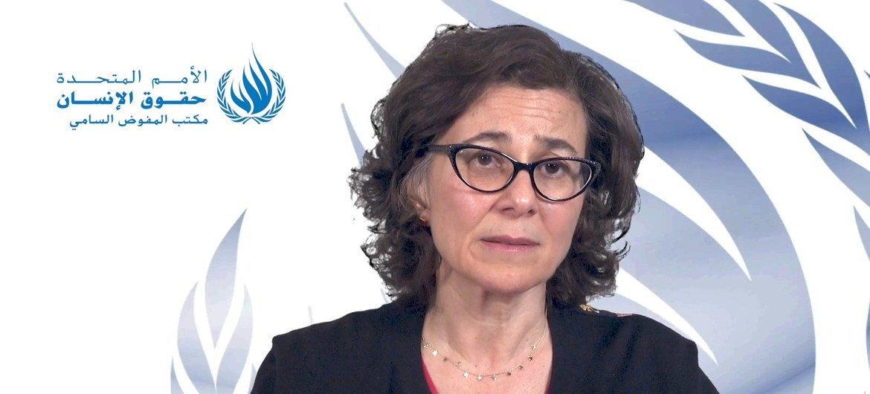 ندى الناشف، نائبة المفوضة السامية للأمم المتحدة لحقوق الإنسان، تدعو الحكومات لاتخاذ إجراءات عاجلة من أجل حماية صحة وسلامة الأشخاص المحتجزين في السجون وفي المرافق المغلقة الأخرى، كجزء من الجهود الشاملة لاحتواء جائحة COVID-19.