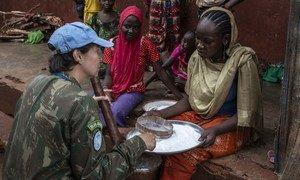 La protección de civiles es un mandato clave para muchas operaciones de mantenimiento de la paz de las Naciones Unidas, entre ellas la de la República Centroafricana.