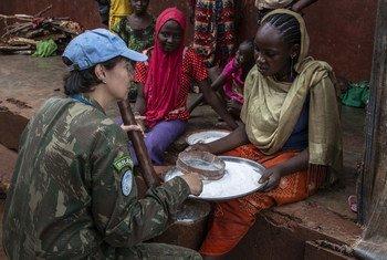 Comandante brasileira Carla Monteiro de Castro Araújo receberá Prêmio Defensora Militar da Igualdade de Gênero da ONU.