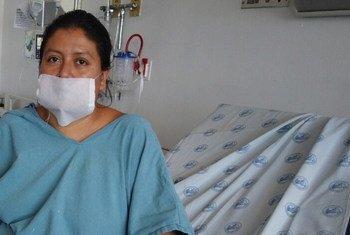 Una paciente en el hospital Juarez de la Ciudad de México.