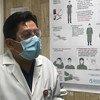 Doctor Luis Antonio Gorordo del Sol es el responsable de Terapia Intensiva de Áreas COVID19 del Hospital Juárez Ciudad de México.