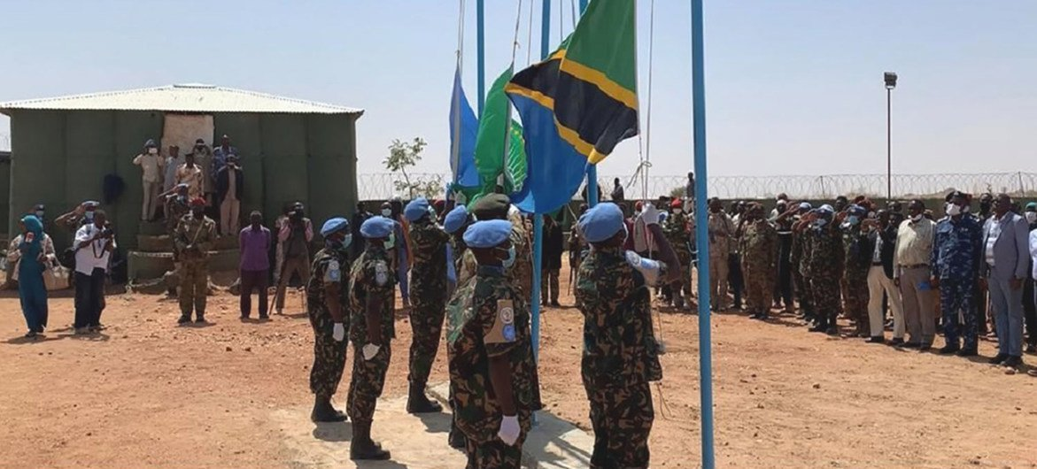 At its height, more than 6,500 uniformed personnel were deployed to UNAMID.