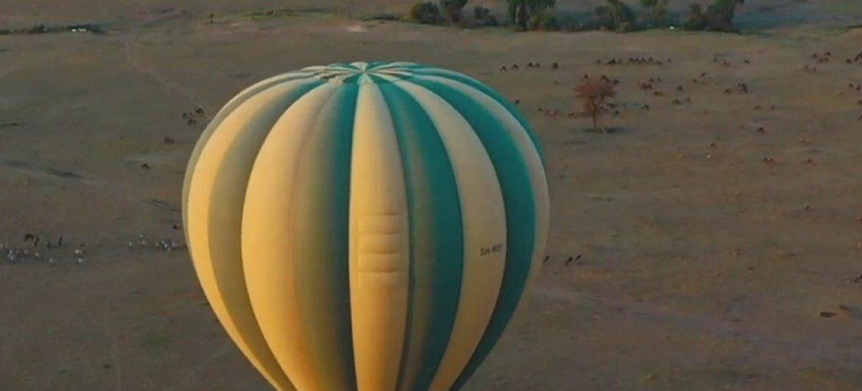 O turismo em zonas rurais, como neste parque natural na Tanzânia, é uma importante fonte de empregos