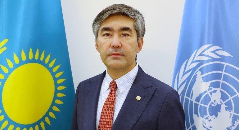 Постоянный представитель Казахстана при ООН Магжан Ильясов