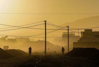 La capitale de l'Afghanistan, Kaboul.
