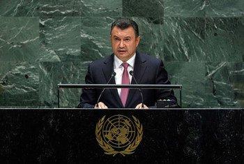 Премьер-министр Республики Таджикистан Кохир Расулзода на 74-й сессии Генеральной Ассамблеи ООН