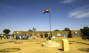 The UN has supported development projects focusing on the rule of law in western Darfur.