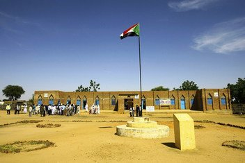 وكالات الأمم المتحدة تدعم   عددا من مشاريع التنمية التي تركز على سيادة القانون في غرب دارفور.