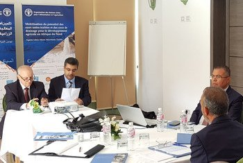 """ورشة عمل حول إطلاق مشروع """"تثمين إمكانات المياه المستعملة المعالجة ومياه الصرف للتنمية الزراعية في دولة ليبيا"""". (27/09/2019)"""