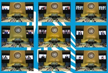 यूएन महासभा में विभिन्न वक्ताओं का एक संकलन (सितम्बर 2020)