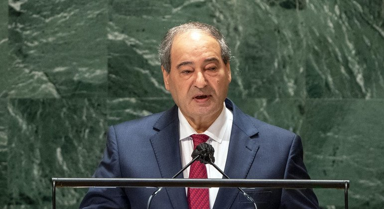 Syria committed to 'combating and eradicating terrorism', General Assembly hears