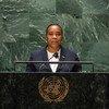 Ministra dos Negócios Estrangeiros de São Tomé e Princípe, Edite Ramos da Costa Ten Jua.