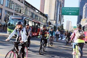 自行车道旨在将城市基础设施向可持续的零排放交通转型。