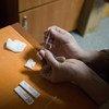 Teste de HIV acessível - um passo importante no combate ao vírus.