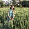 अन्तरराष्ट्रीय कृषि विकास कोष के भारत कार्यालय में कन्ट्री कोऑर्डिनेटर मीरा मिश्रा.