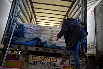 In a two-day operation, the World Health Organization (WHO) has sent seven truckloads, or 55 tons of medicine and medical supplies, from Turkey into Idlib governorate and parts of Aleppo.