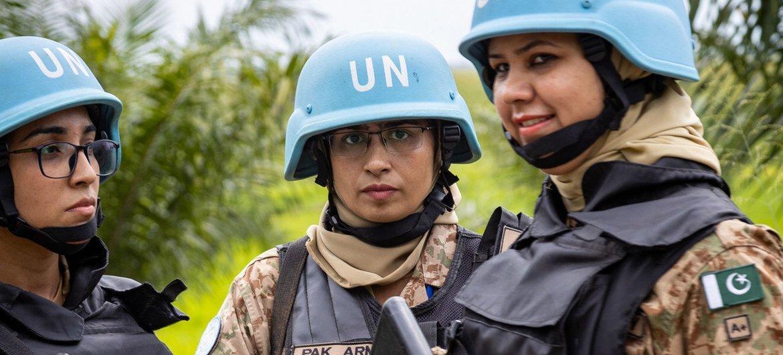 Uma outra proposta do general Affonso da Costa na RD Congo é promover mais participação de mulheres nas forças de paz