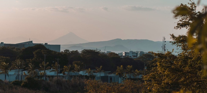 Vista de Managua, la capital de Nicaragua