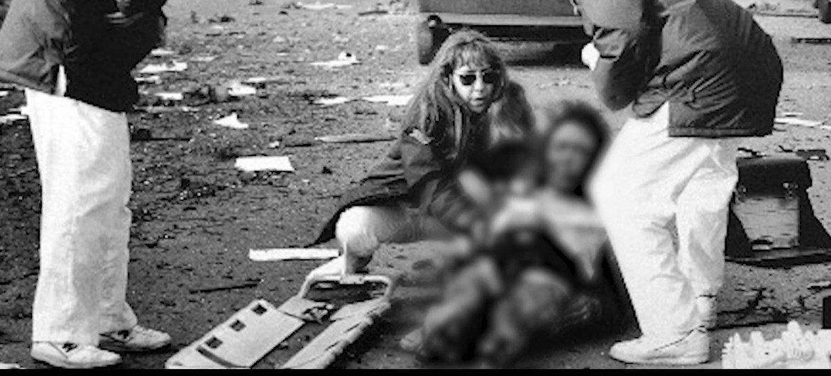 أم وابنتها أصيبتا في هجوم إرهابي