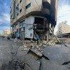 मई 2021 में इसराइली हवाई कार्रवाई में ग़ाज़ा में व्यापक क्षति हुई.
