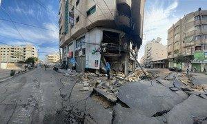Les frappes aériennes israéliennes en mai 2021 ont causé des destructions généralisées à Gaza.