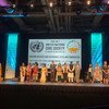 Youth delegates at the 68th UN Civil Society Conference in Salt Lake City, Utah. (28 August 2019)