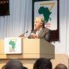 El Secretario General António Guterres habla en Yokohama ante los asistentes a la Séptima Conferencia Internacional de Tokio sobre Desarrollo Africano.