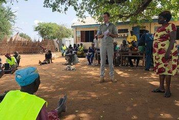 Иван Кущенко из Украины в составе миротворческой миссии ООН в Южном Судане