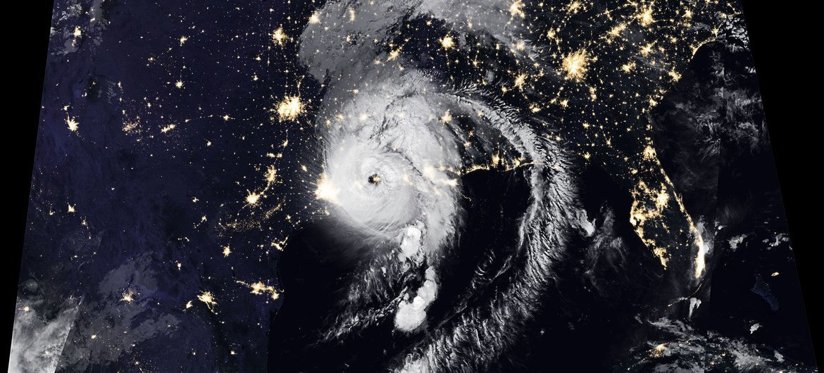 Hurricane Laura made landfall in the US state of Louisiana, as a category 4 storm.