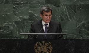 Рашид Мередов, заместитель главы кабинета министров и министр иностранных дел Туркменистана выступил в Генассамблее ООН.