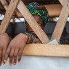 Una mujer superviviente de la violencia de género en Kalemie, en la República Democrática del Congo.