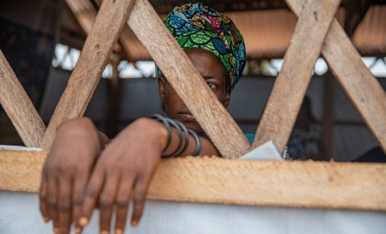 Mwanamke mwathirika wa udhalilishaji wa kijinsia huko Kalemie, Jamhuri ya Kidemokrasia Congo DRC