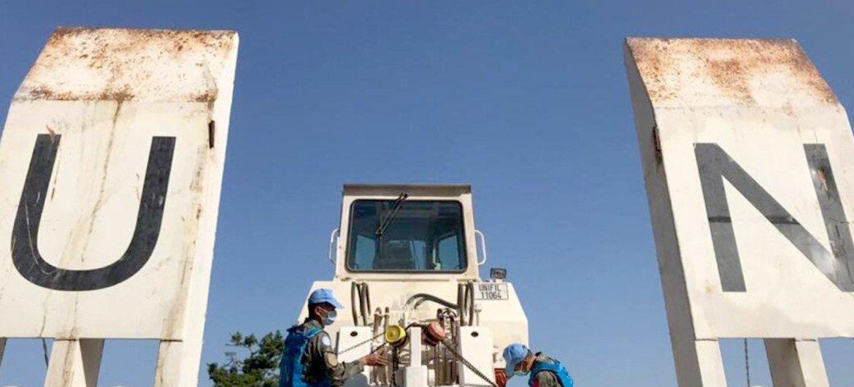 اليونيفيل تنتشر في بيروت لمساعدة القوات المسلحة اللبنانية بعد انفجارات المرفأ