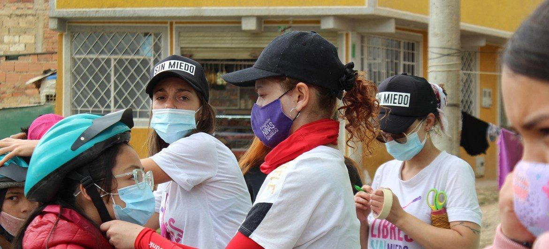 La fundación Niñas sin miedo es un lugar donde las niñas se sienten seguras.