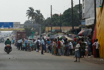 Conakry, the capital city of Guinea.