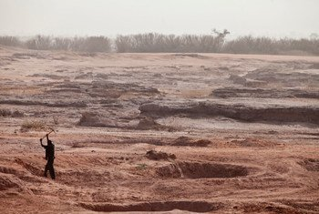 Some areas of Niger have been degraded due to unsustainable land practices.