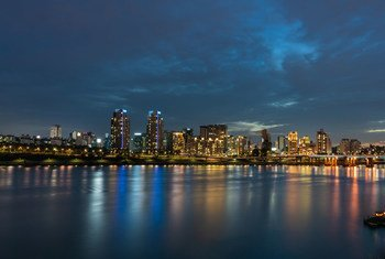 As cidades da Coreia do Sul, como a capital, Seul, são grandes consumidoras de energia.