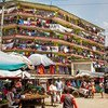 A residential building in Nairobi, Kenya. According to UN estimates, by 2050 about 68 per cent of the world's population will be living in urban areas.