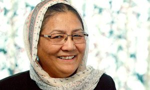 Хабиба Сараби - одна из четырех женщин, участвующих в переговорах с талибами.