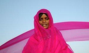 Khadija Mohammed is an FGM survivor from the Afar region of Ethiopia.