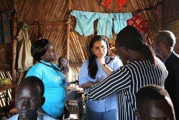 联合国秘书长青年问题特使贾亚特玛·维克勒马纳亚克(Jayathma Wickramanayake)访问南苏丹。