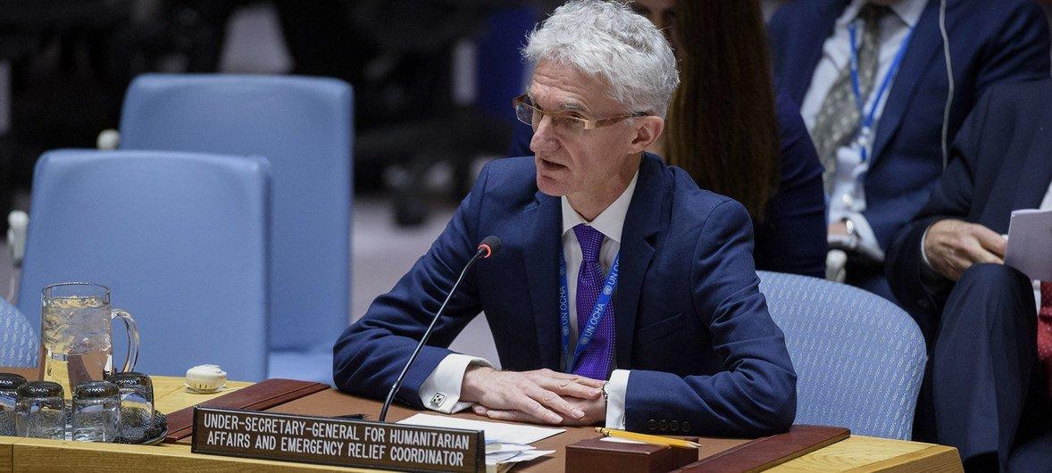 """O chefe humanitário, Mark Lowcock alertou para a iminência de """"múltiplas"""" situações de falta de alimentos e fome."""