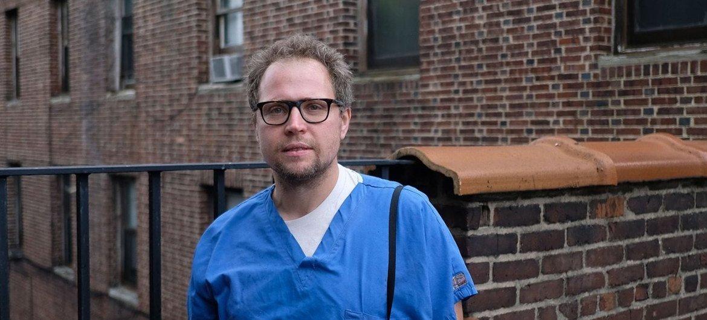 Евгений Пинелис, врач-рениматолог одной из больниц Нью-Йорка