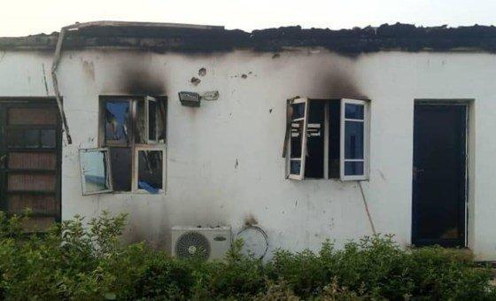 Aftermath of attack on Ngala humanitarian hub, 18 January 2020
