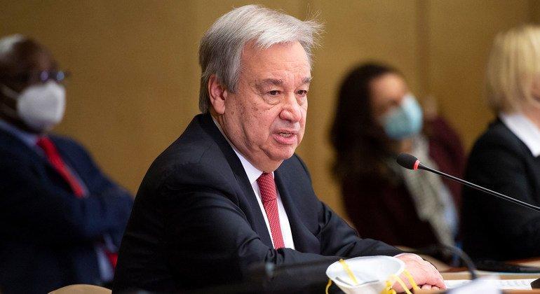 UN Secretary-General António Guterres (file photo).