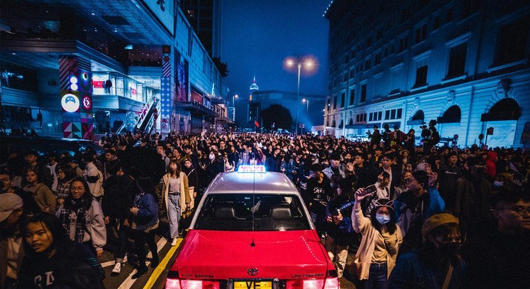 Hong Kong: Arrests under Security Law, a serious concern